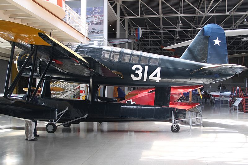 Vought OS2U-3 Kingfisher chilien