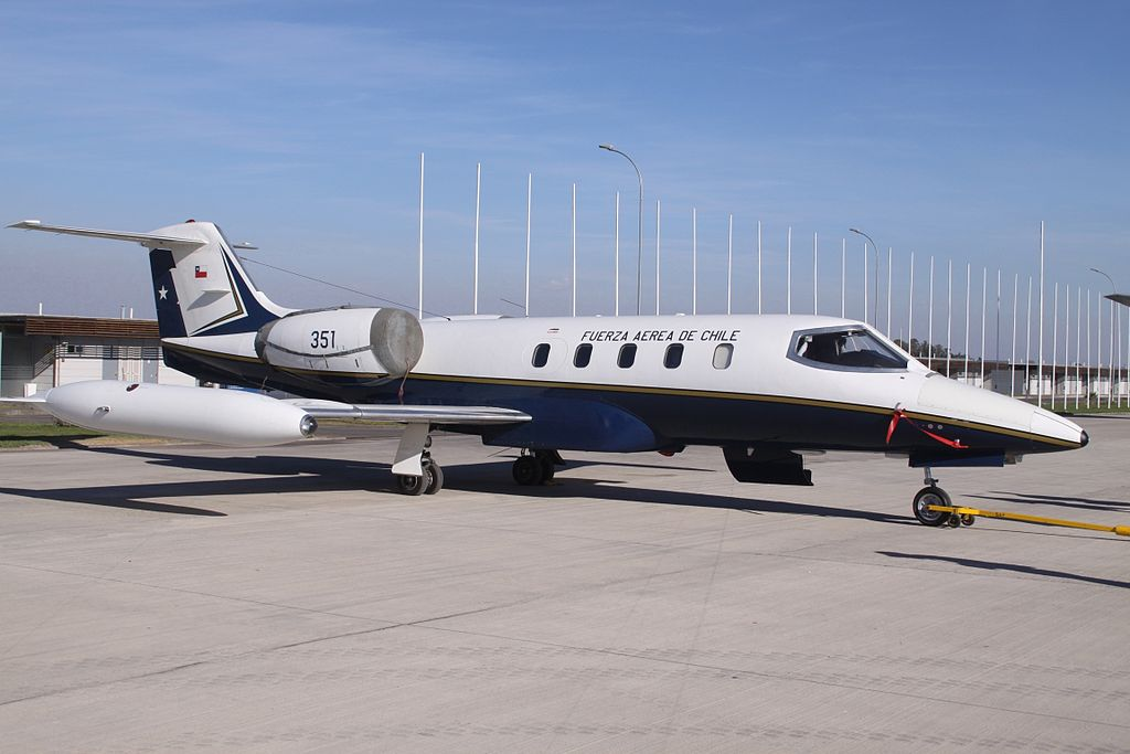 Learjet 35A (RC-35) chilien
