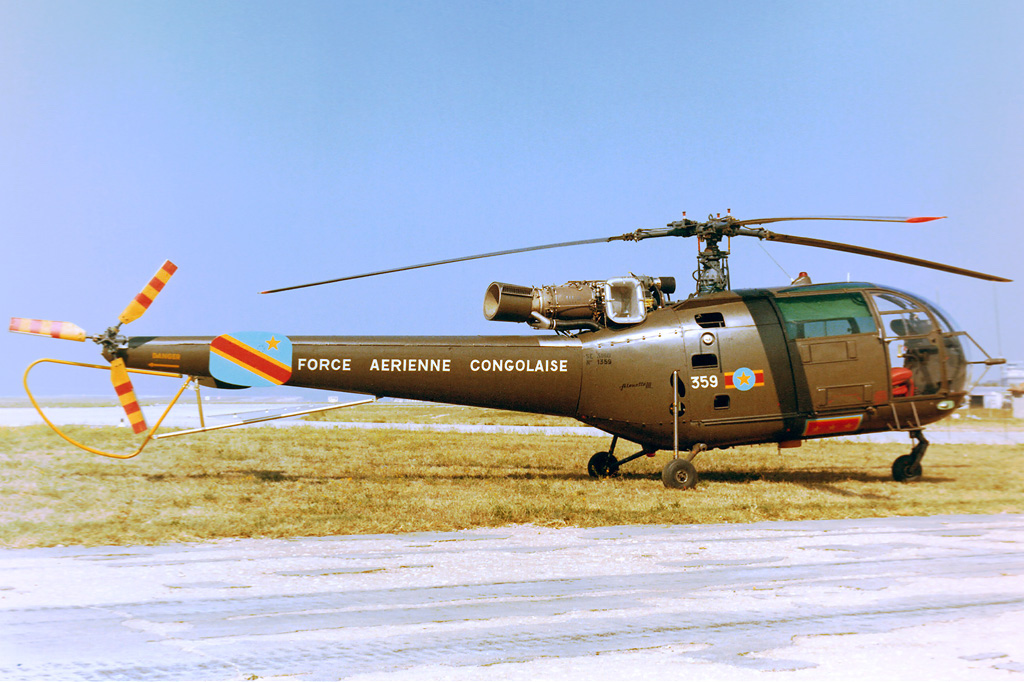 Sud-Aviation SA 316A Alouette III congolaise