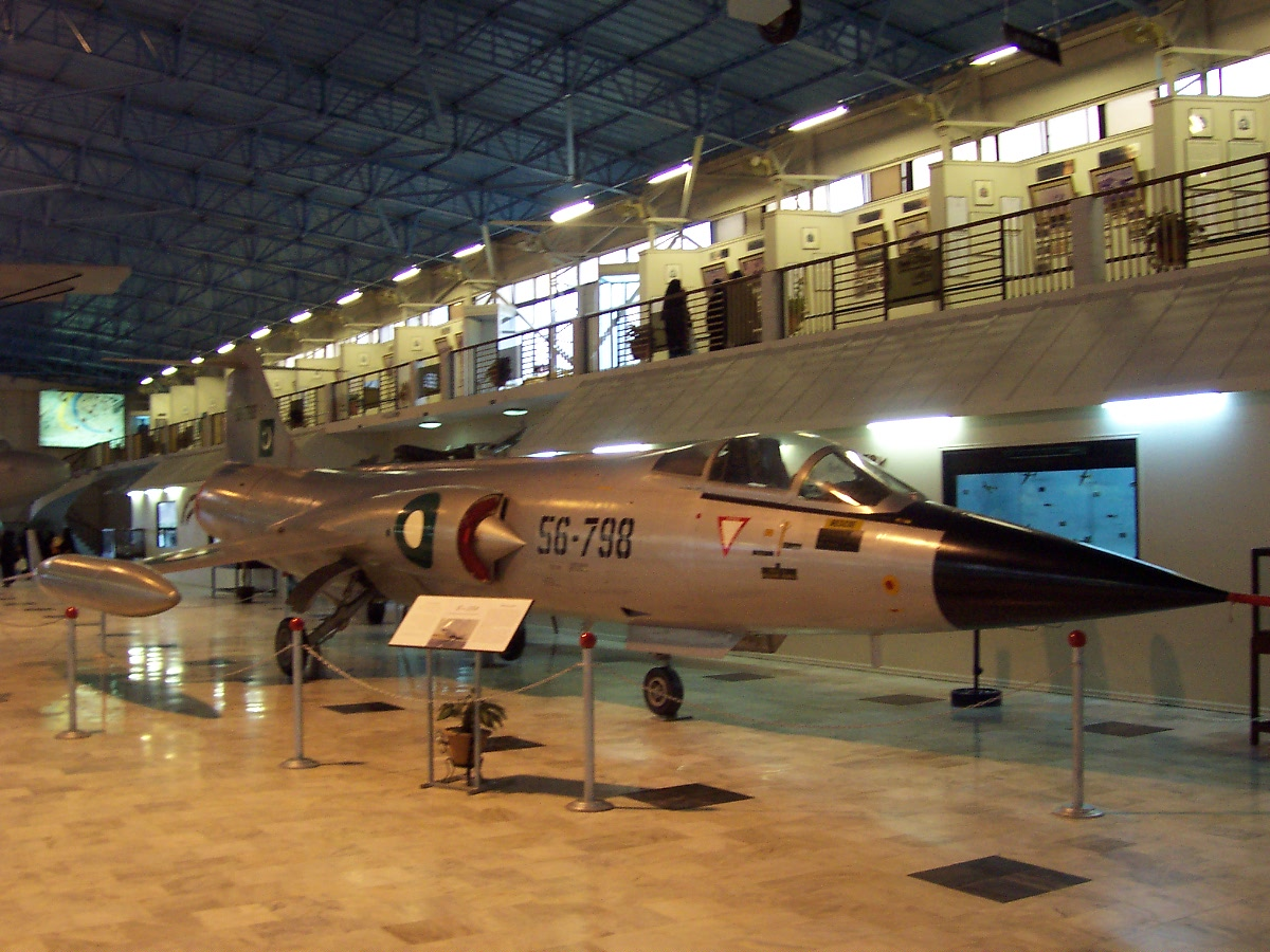 Lockheed F-104A Starfighter pakistanais