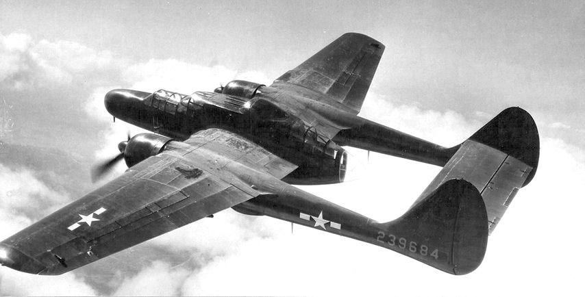 Northrop P-61B Black Widow en vol
