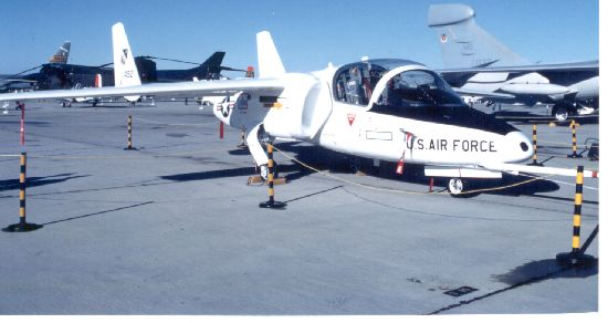Fairchild T-46 Eaglet au statique