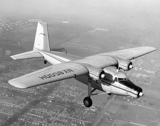 Northrop YC-125 Raider (N-23) en vol