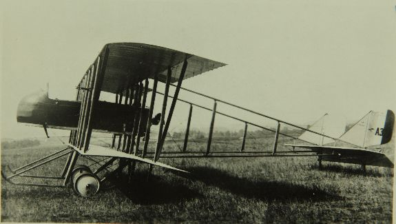 Farman MF.11 vu de profil