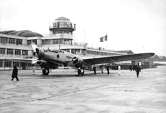 Dewoitine D.338 civil au Bourget