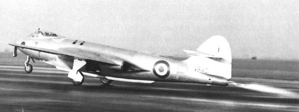 Hawker P.1072 au décollage