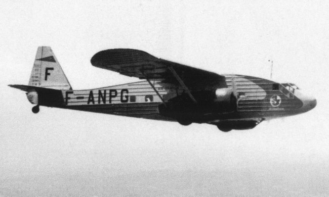 Potez 62 civil en vol