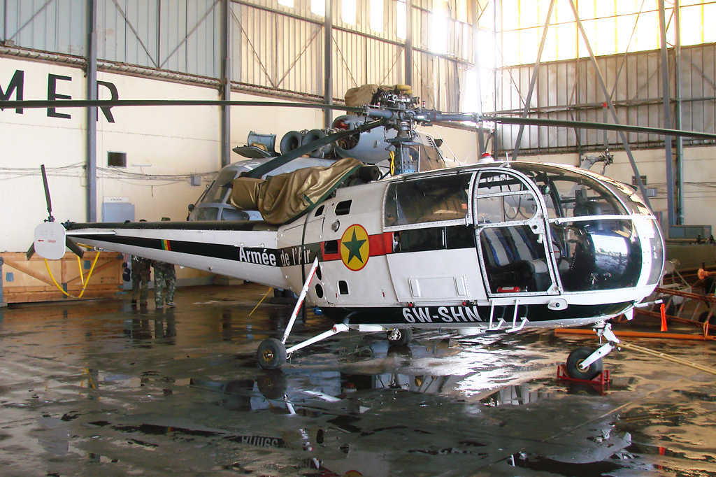 Sud-Aviation SA 316A Alouette III sénégalaise