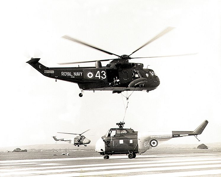 Westland WS.61 Sea King HAS.1 de la Royal Navy