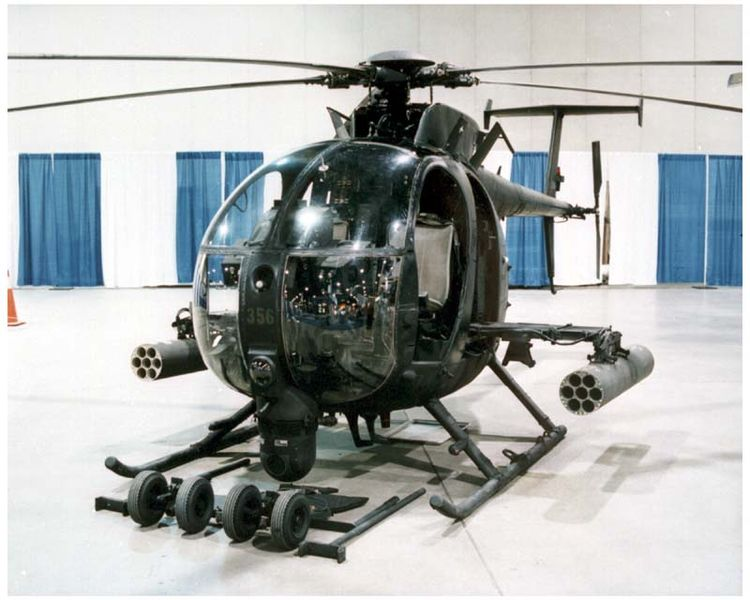 Hughes MH-6 Little Bird en exposition