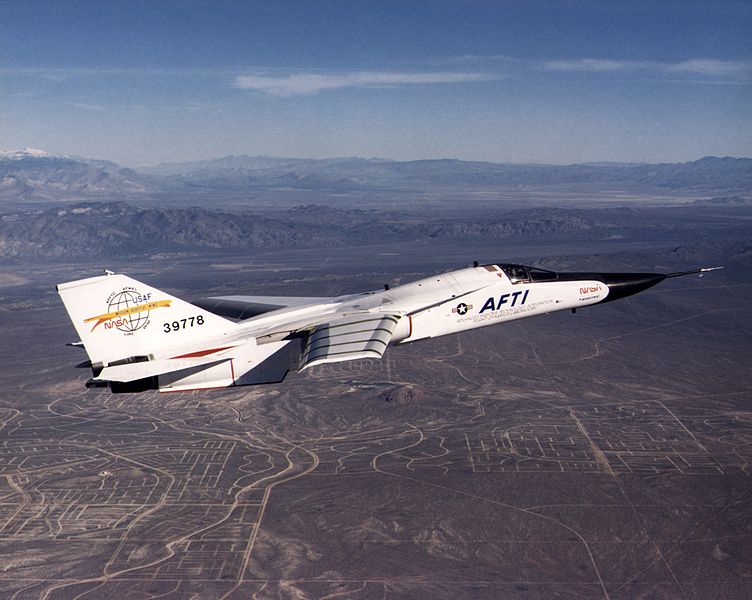 General Dynamics F-111 AFTI de la NASA