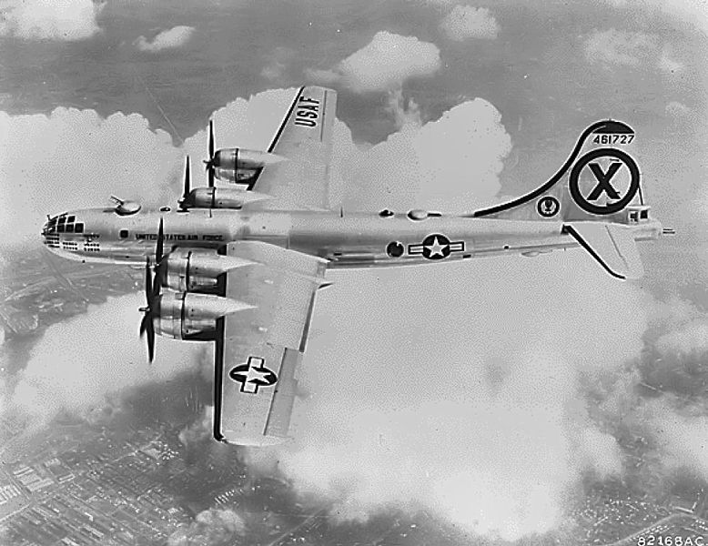 Boeing B-29 Superfortress (RB-29A) de l'USAF en vol