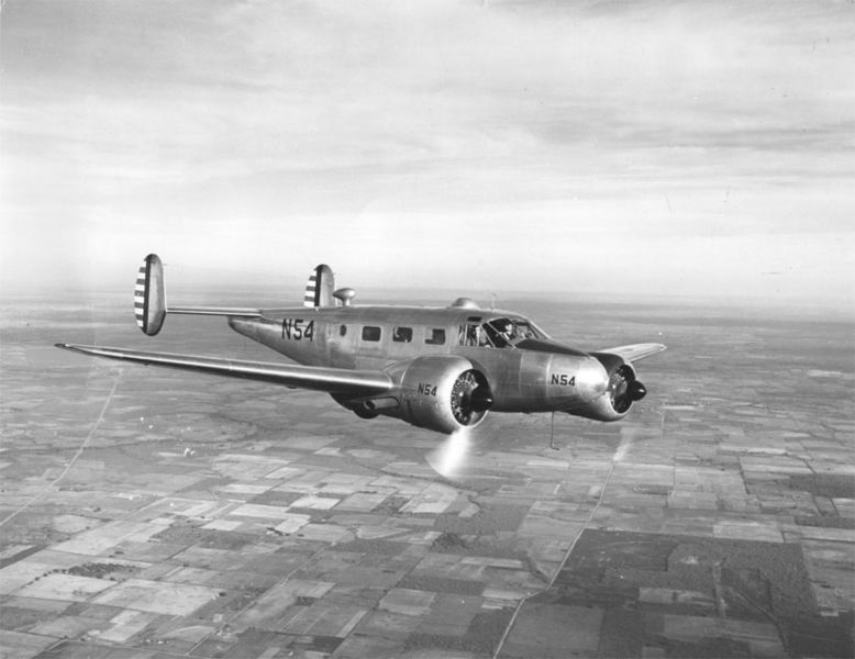Beech 18 (AT-7) de l'USAAF