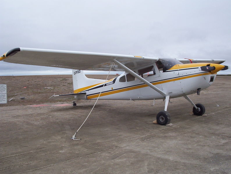 Cessna 185 Skywagon (A185E) civil