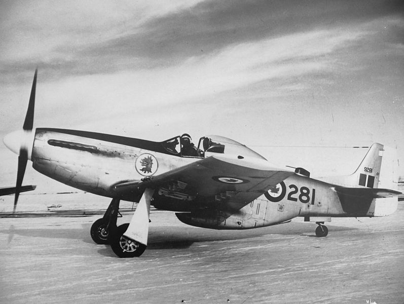 North American P-51 Mustang canadien