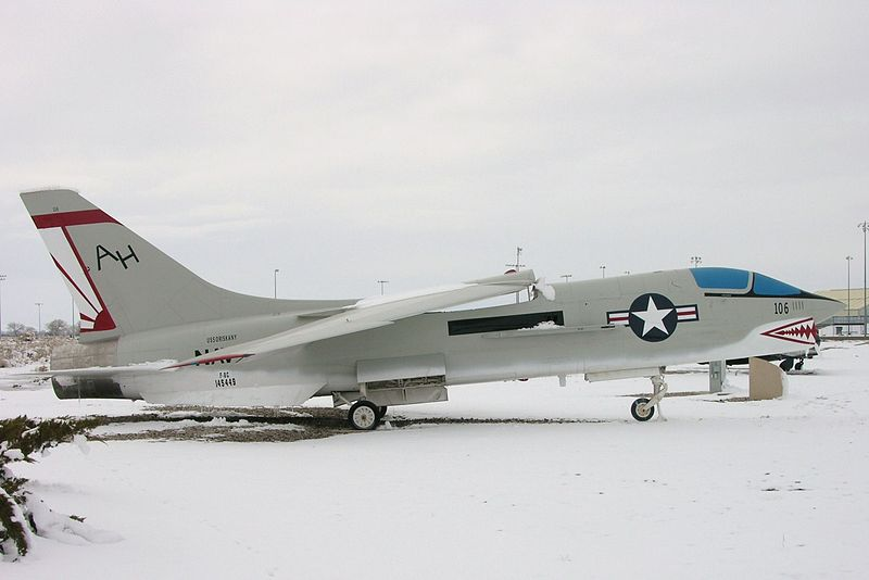 Vought F-8 Crusader (F-8L) de l'US Navy