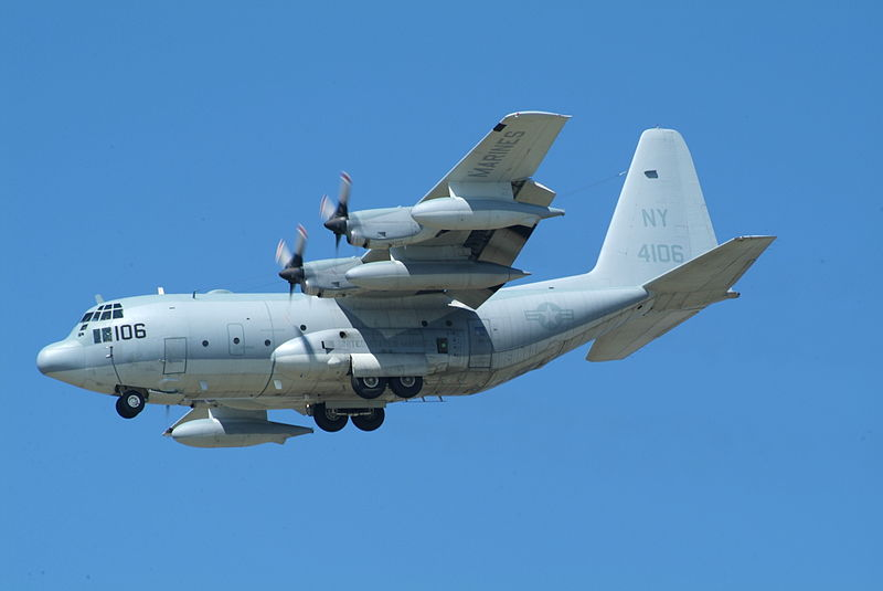 Lockheed KC-130T de l'USMC en vol