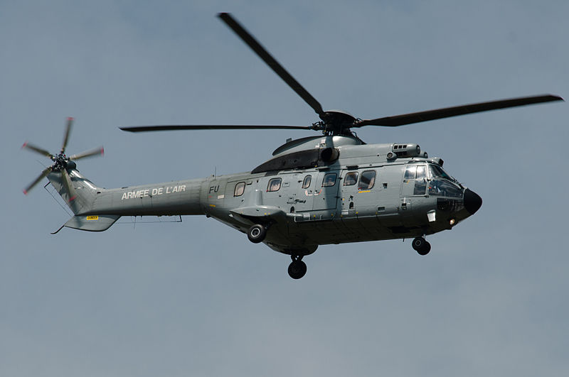Aérospatiale AS332 L1 Super Puma français