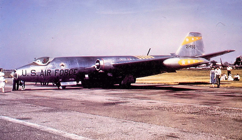 Martin RB-57A Night Intruder de l'USAF