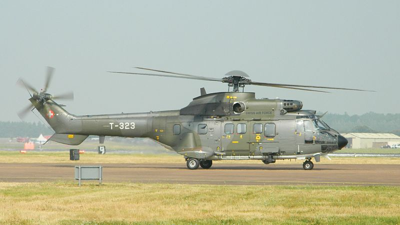 Aérospatiale AS332 M1 Super Puma suisse