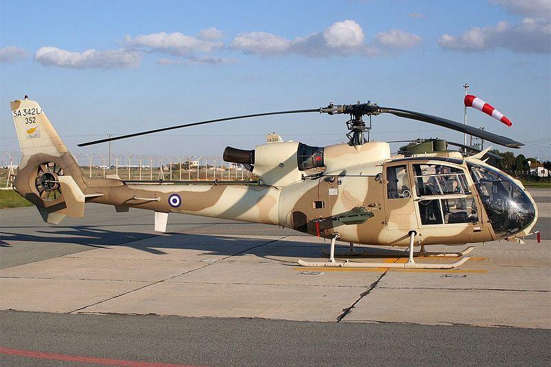 Sud-Aviation SA 342L1 Gazelle chypriote