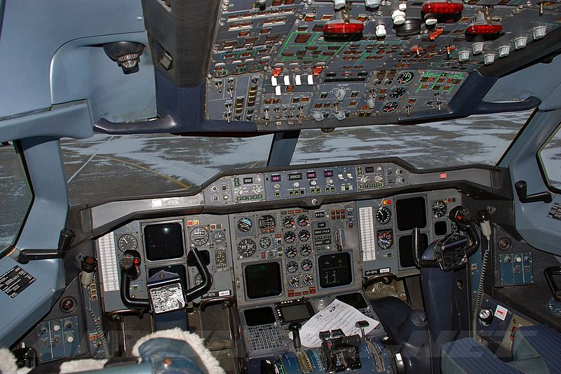 Airbus A310-200 - Cockpit