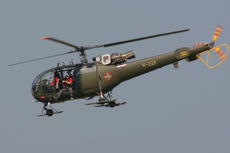 Sud-Aviation SA 316B Alouette III suisse