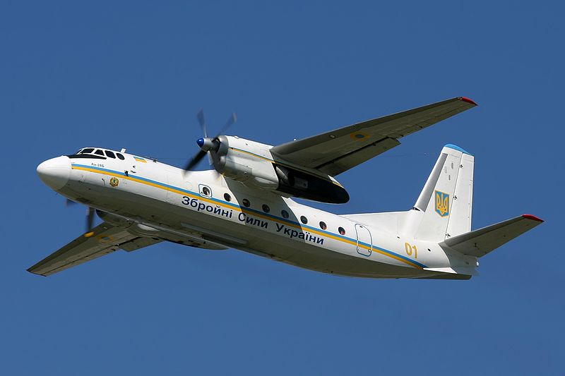 Antonov An-24B ukrainien en vol
