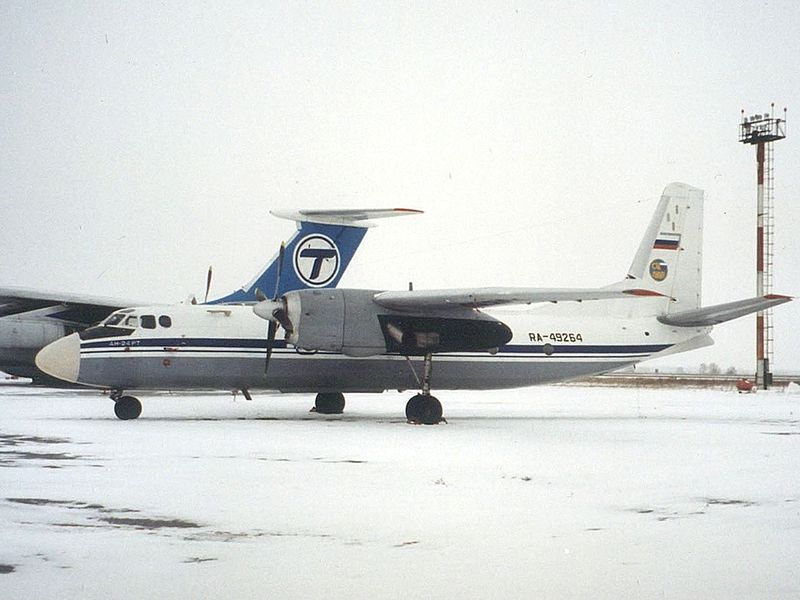 Antonov An-24RT russe