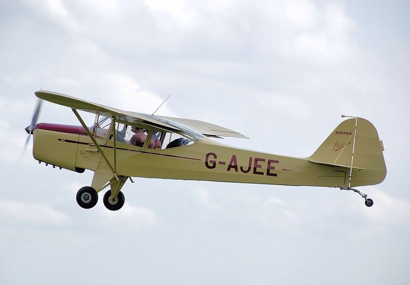 Auster J/1 Autocrat civil en vol