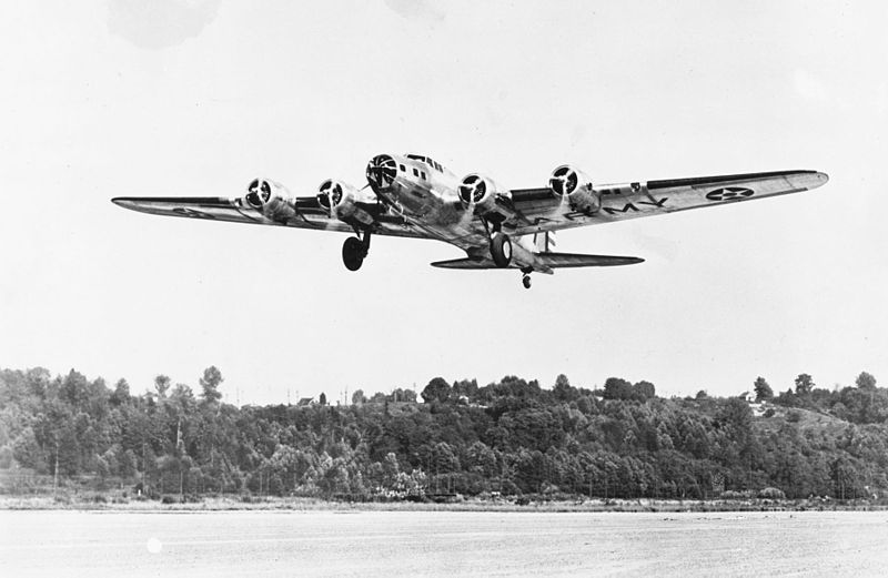 Boeing B-17B Flying Fortress de l'USAAC