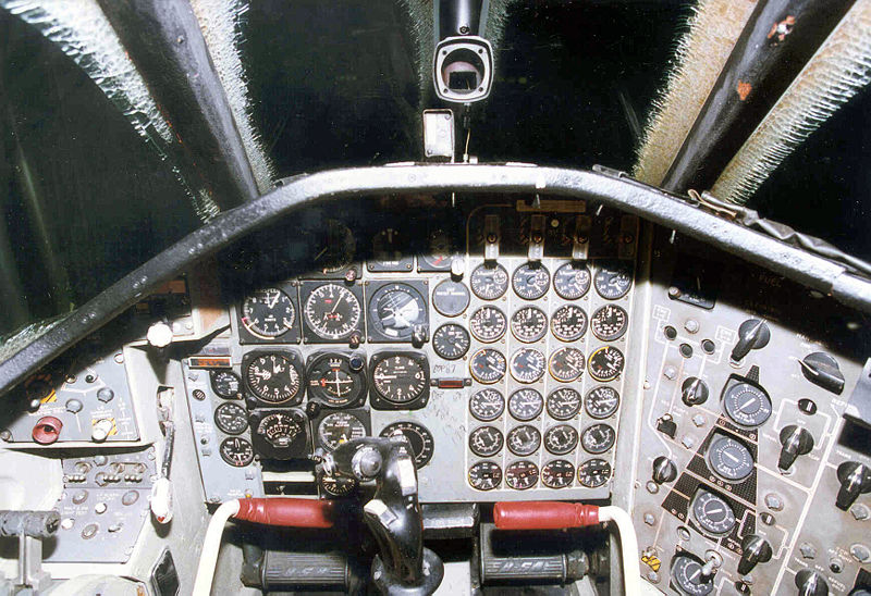 Convair B-58 Hustler - Cockpit