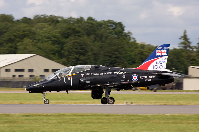 BAe Hawk T.1A de la Royal Navy