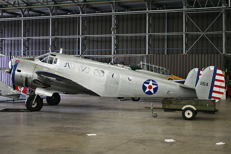 Beech 18 (D18S) de collection