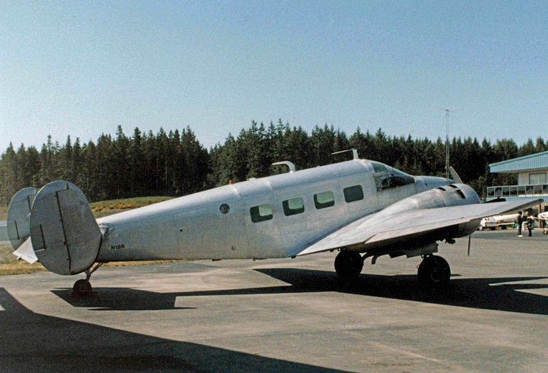 Beech 18 (E18S) civil
