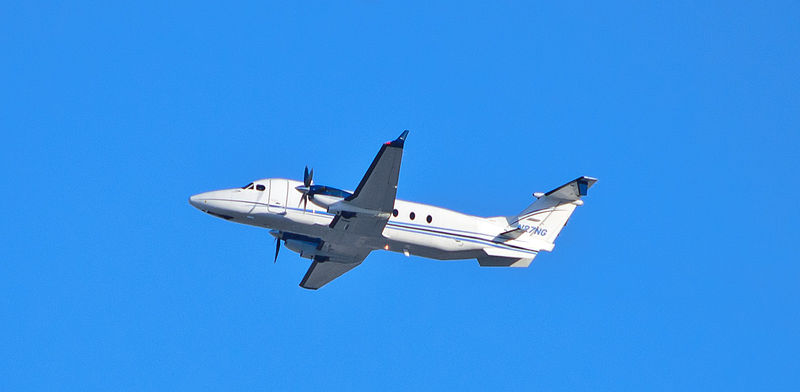 Beech 1900D civil en vol