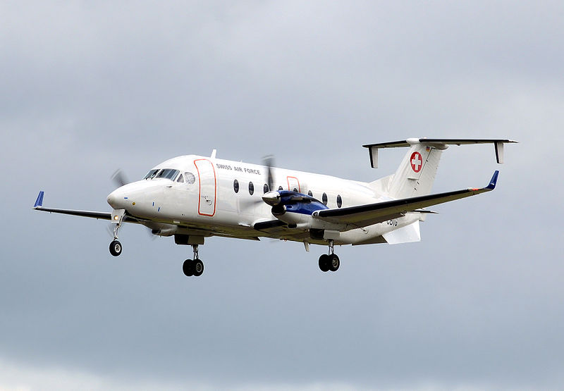 Aviationsmilitaires Net Beech 1900