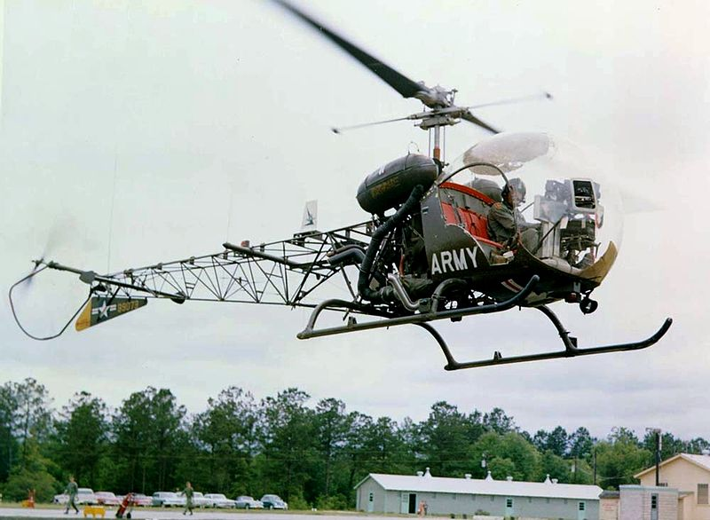 Bell H-13 Sioux (OH-13S) de l'US Army