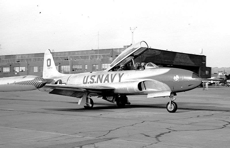 Lockheed T-33B de l'US Navy