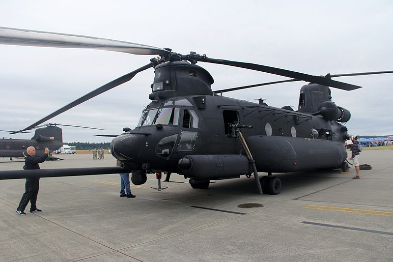 Boeing-Vertol MH-47G Chinook de l'US Army