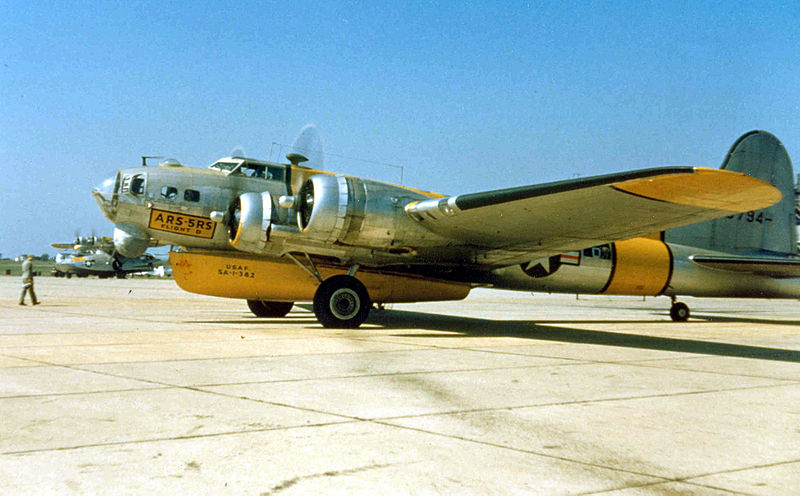Boeing B-17 Flying Fortress (SB-17G) de l'USAF
