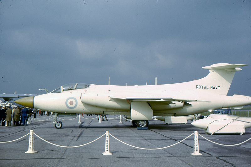 Blackburn Buccaneer S.1 blanc de la Royal Navy