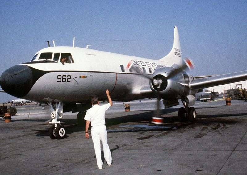Convair C-131G de l'US Navy