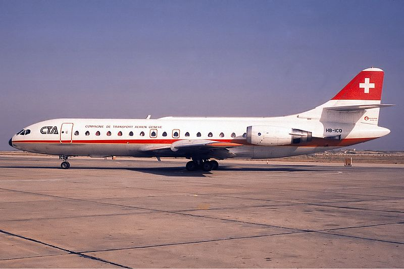 Sud-Aviation SE-210 Caravelle 10R civil