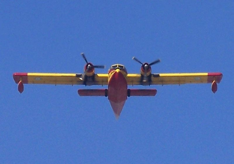 Canadair CL-215 Scooper grec