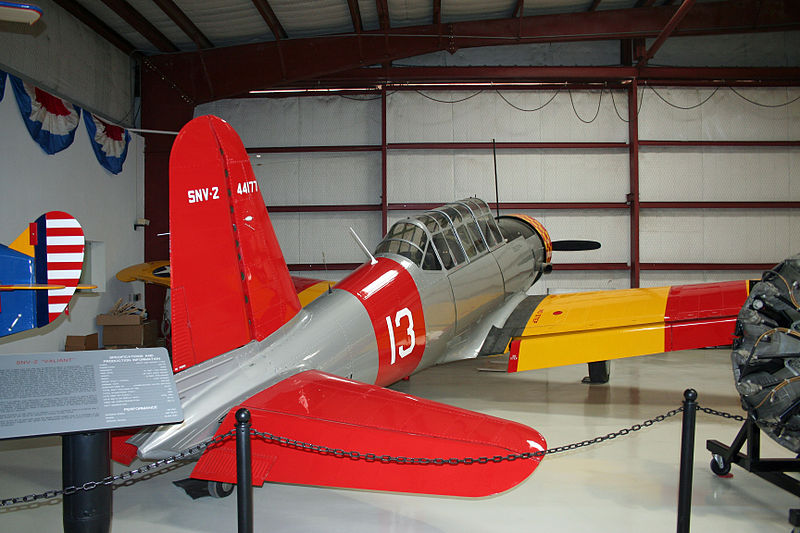 Vultee BT-13 Valiant (SNV-2) de l'US Navy conservé