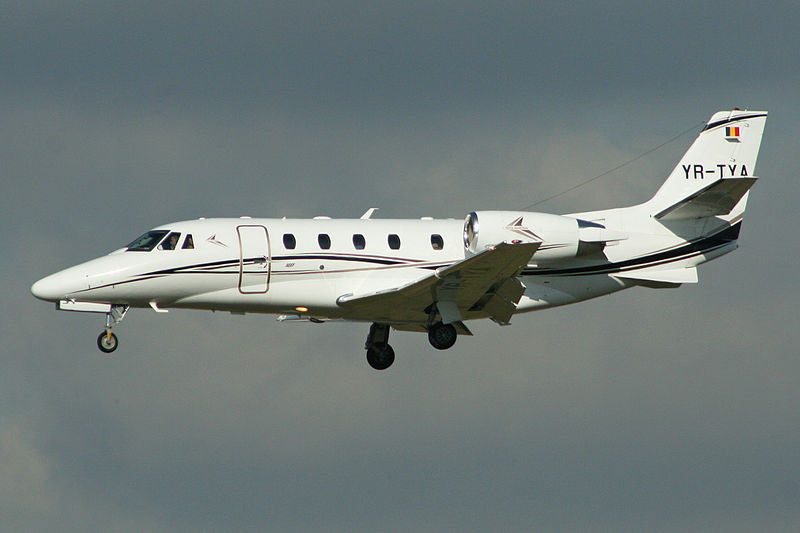 Cessna 560XL Citation XLS+ civil à l'atterrissage