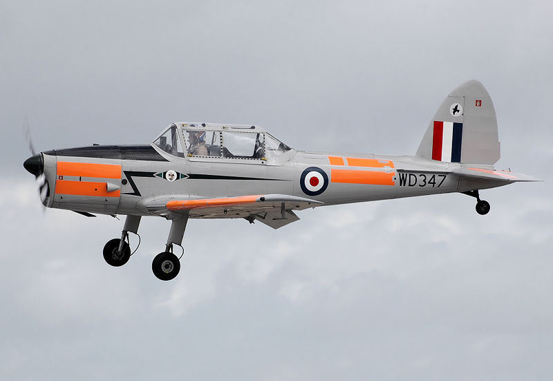 De Havilland Canada DHC-1 Chipmunk Mk 22 en vol