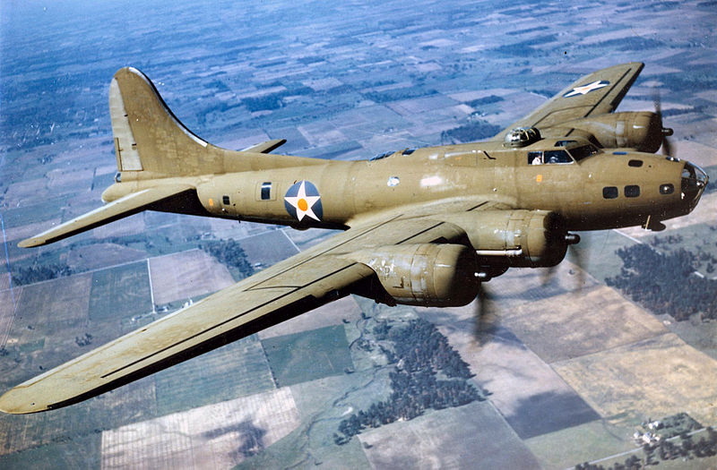 Boeing B-17E Flying Fortress de l'USAAC