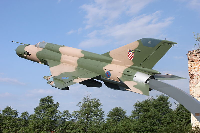 Mikoyan-Gourevitch MiG-21Bis croate